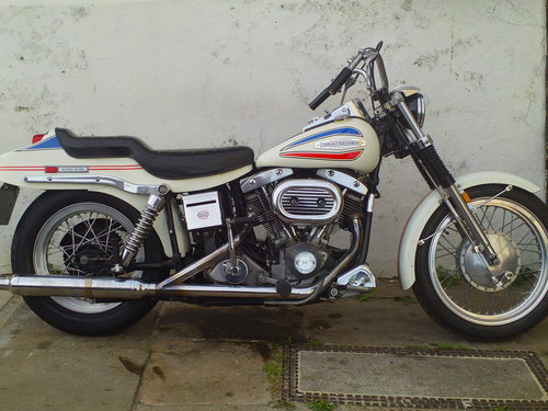 1971 HARLEY DAVIDSON FX 1200 NIGHT TRAIN 'BOAT TAIL' SOLD (picture 1 of 6)