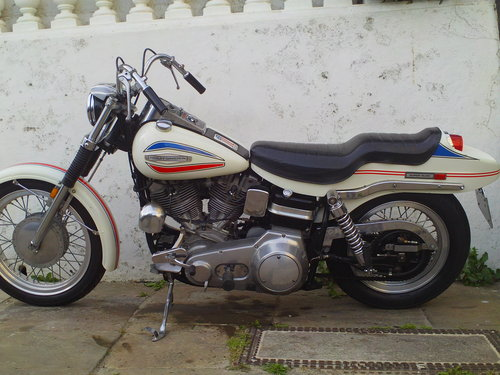 1971 HARLEY DAVIDSON FX 1200 NIGHT TRAIN 'BOAT TAIL' SOLD (picture 3 of 6)