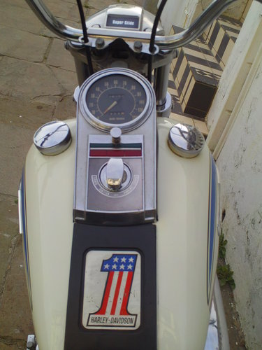 1971 HARLEY DAVIDSON FX 1200 NIGHT TRAIN 'BOAT TAIL' SOLD (picture 5 of 6)