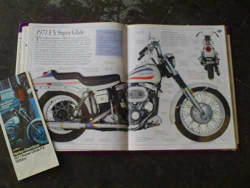1971 HARLEY DAVIDSON FX 1200 NIGHT TRAIN 'BOAT TAIL' SOLD (picture 6 of 6)