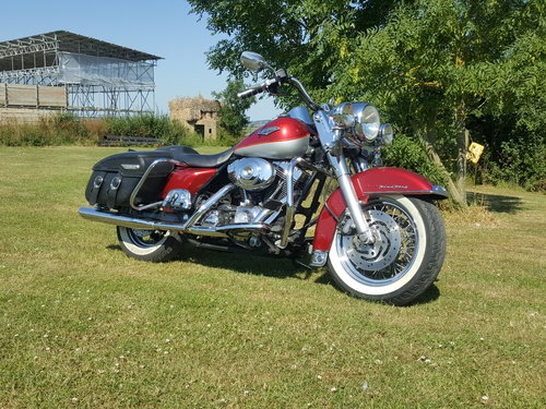 Harley Davidson Road King 1450cc Higher miles - superb! 2004 For Sale (picture 1 of 6)
