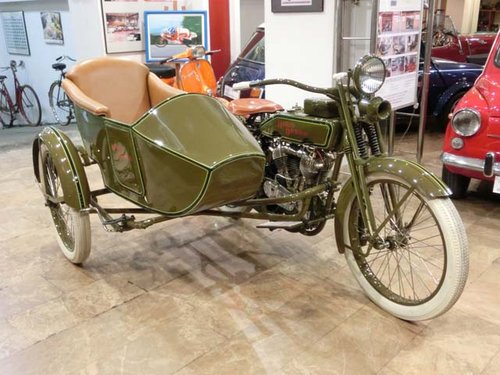 HARLEY DAVIDSON J - L20T WITH SIDECAR - 1920 For Sale (picture 2 of 6)