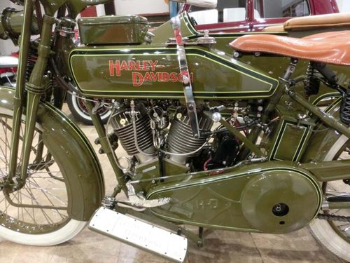 HARLEY DAVIDSON J - L20T WITH SIDECAR - 1920 For Sale (picture 4 of 6)