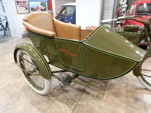 HARLEY DAVIDSON J - L20T WITH SIDECAR - 1920 For Sale (picture 5 of 6)