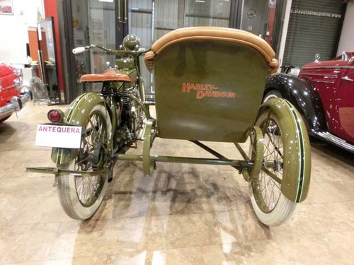 HARLEY DAVIDSON J - L20T WITH SIDECAR - 1920 For Sale (picture 6 of 6)