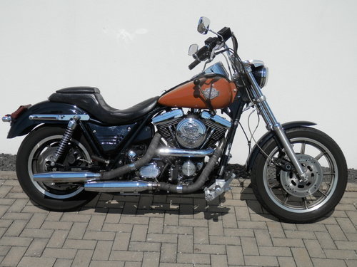 1991 Harley FXRS Evo with tankshift For Sale (picture 3 of 6)