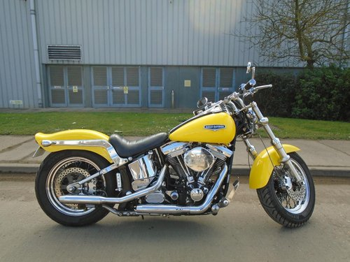 Customised 1988 Harley Softail  For Sale (picture 3 of 6)