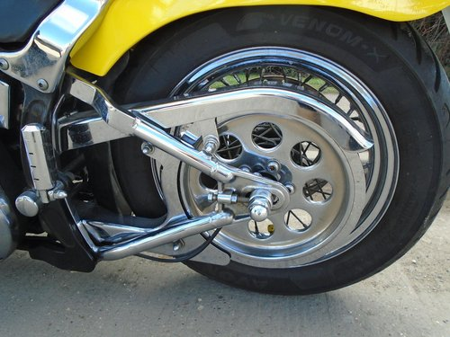 Customised 1988 Harley Softail  For Sale (picture 4 of 6)