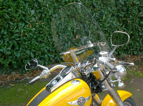 2012 Harley Davidson Fat Boy Windshield For Sale (picture 1 of 2)