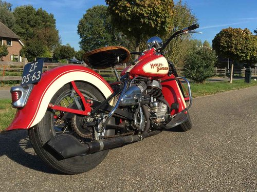 1942 Harley Davidson WLA (WL WLC Flathead) For Sale (picture 2 of 6)