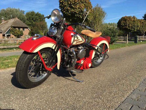1942 Harley Davidson WLA (WL WLC Flathead) For Sale (picture 4 of 6)