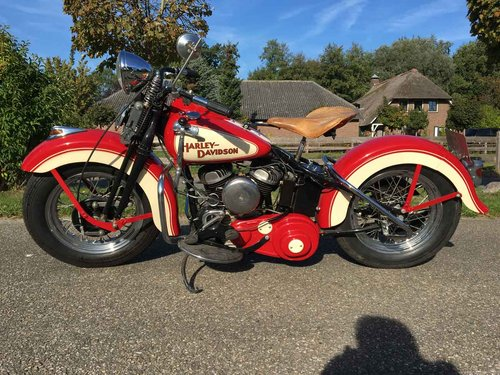 1942 Harley Davidson WLA (WL WLC Flathead) For Sale (picture 5 of 6)