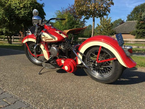 1942 Harley Davidson WLA (WL WLC Flathead) For Sale (picture 6 of 6)
