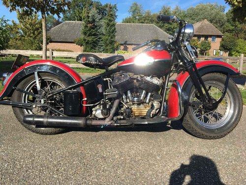 1946 Harley Davidson U (UL ULH Flathead) For Sale (picture 1 of 6)