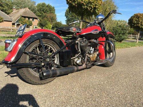 1946 Harley Davidson U (UL ULH Flathead) For Sale (picture 2 of 6)