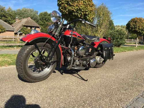 1946 Harley Davidson U (UL ULH Flathead) For Sale (picture 4 of 6)