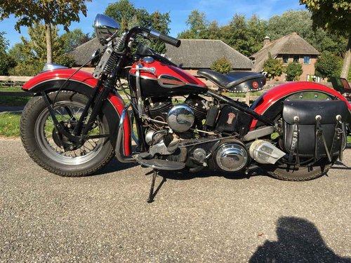 1946 Harley Davidson U (UL ULH Flathead) For Sale (picture 5 of 6)