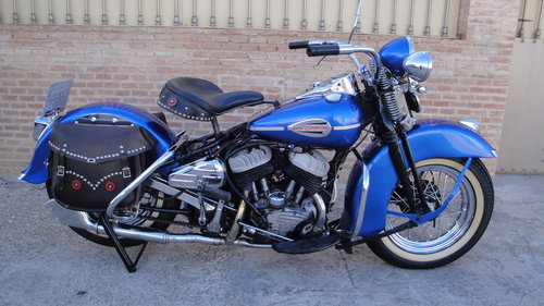1948 HARLEY DAVIDSON 48WL 750cc FLATHEAD For Sale (picture 1 of 6)