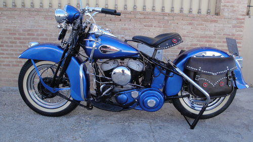 1948 HARLEY DAVIDSON 48WL 750cc FLATHEAD For Sale (picture 2 of 6)