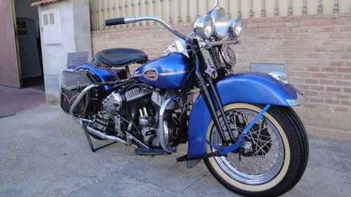 1948 HARLEY DAVIDSON 48WL 750cc FLATHEAD For Sale (picture 3 of 6)