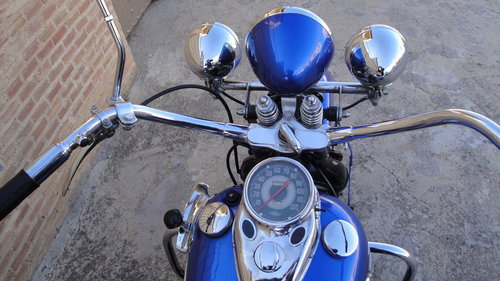 1948 HARLEY DAVIDSON 48WL 750cc FLATHEAD For Sale (picture 4 of 6)