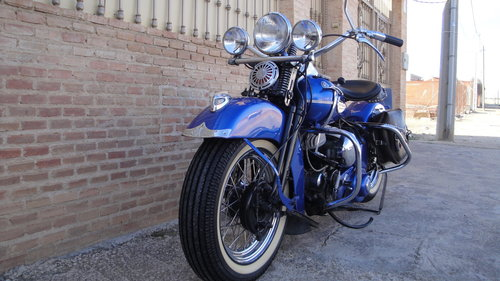 1948 HARLEY DAVIDSON 48WL 750cc FLATHEAD For Sale (picture 6 of 6)