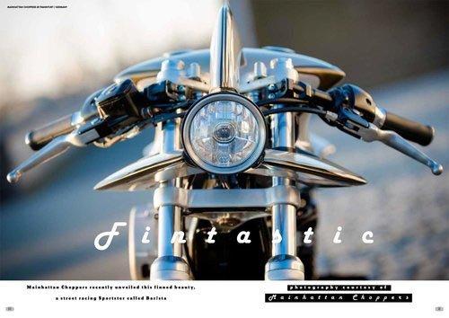 1996 BAR!STA Cafe Racer on Harley Davidson Sportster For Sale (picture 3 of 6)