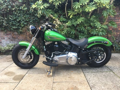 2015 Harley Davidson FLS Softail Slim, Stunning Bike SOLD (picture 3 of 6)