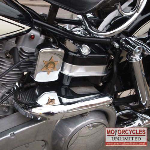 Genuine 1971 HD California CHIPS Shovelhead, Must See. For Sale (picture 3 of 6)