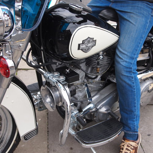 Genuine 1971 HD California CHIPS Shovelhead, Must See. For Sale (picture 6 of 6)