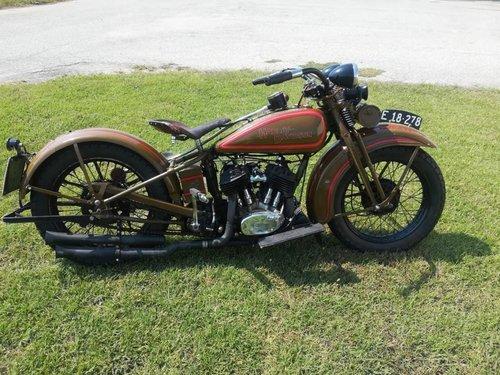 Harley Davidson DL 750cc - 1930 SOLD (picture 1 of 6)