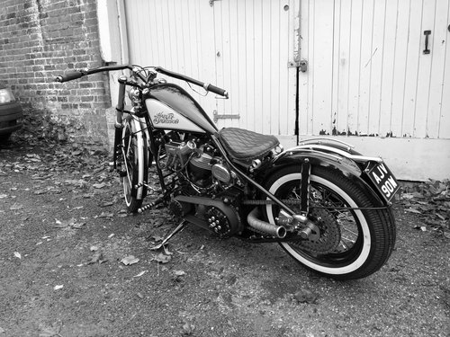 1978 brass bobber For Sale (picture 1 of 6)