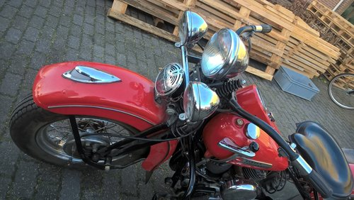 1974 harley davidson 1200 SV 1947 model U SOLD (picture 3 of 6)