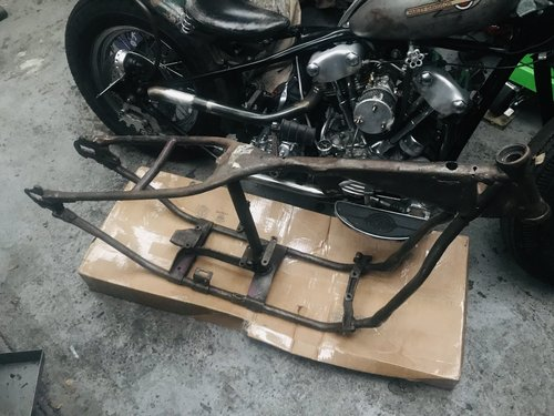 1958 Harley Davidson Panhead project For Sale (picture 1 of 4)