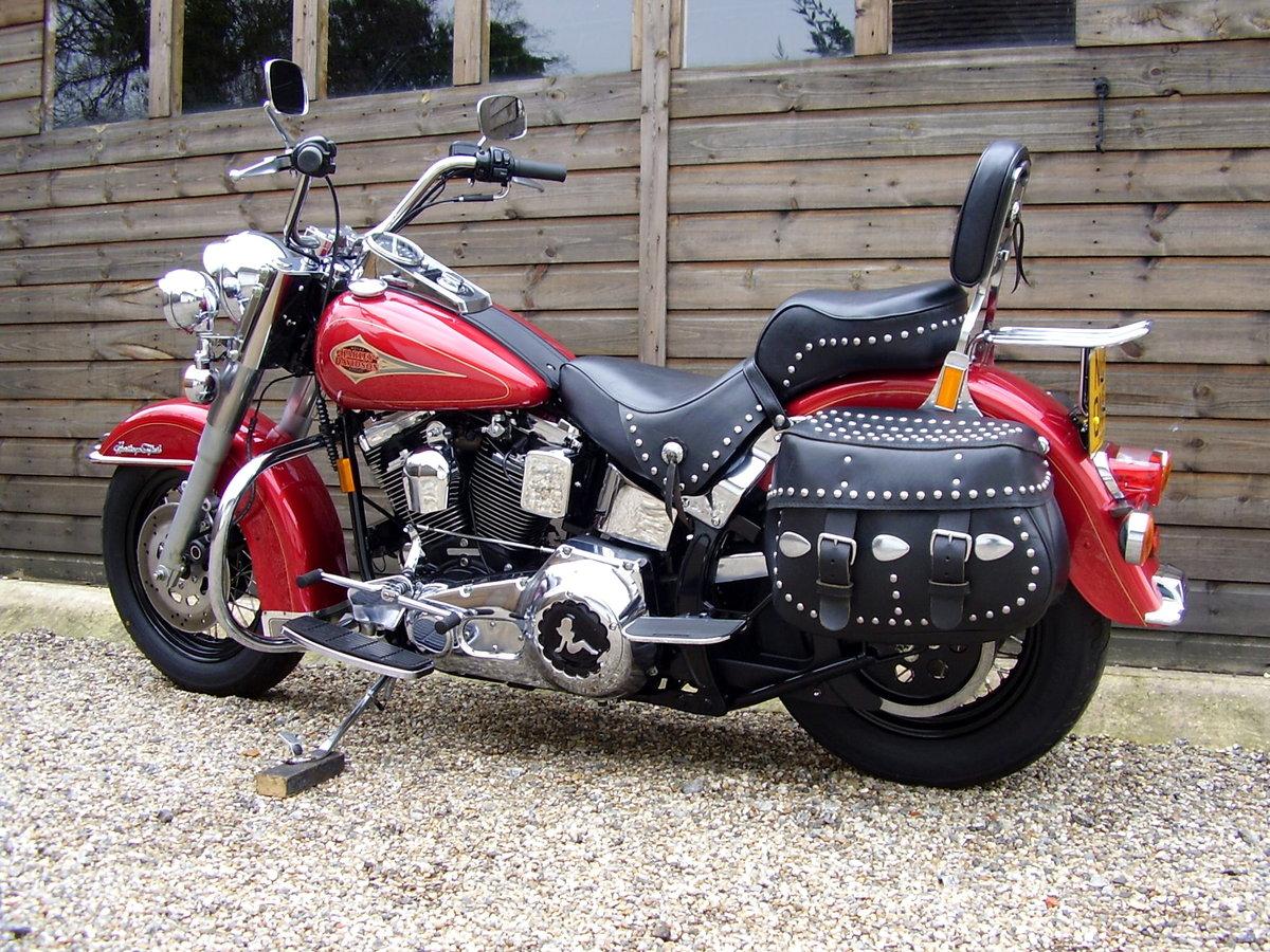 Harley Softail Heritage Classic 1340 EVO (2560 miles) 1995 N
