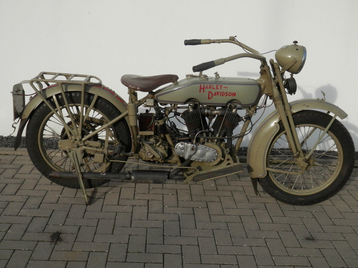 Barn find 1920 Harley 1000cc J-Model SOLD (picture 1 of 6)