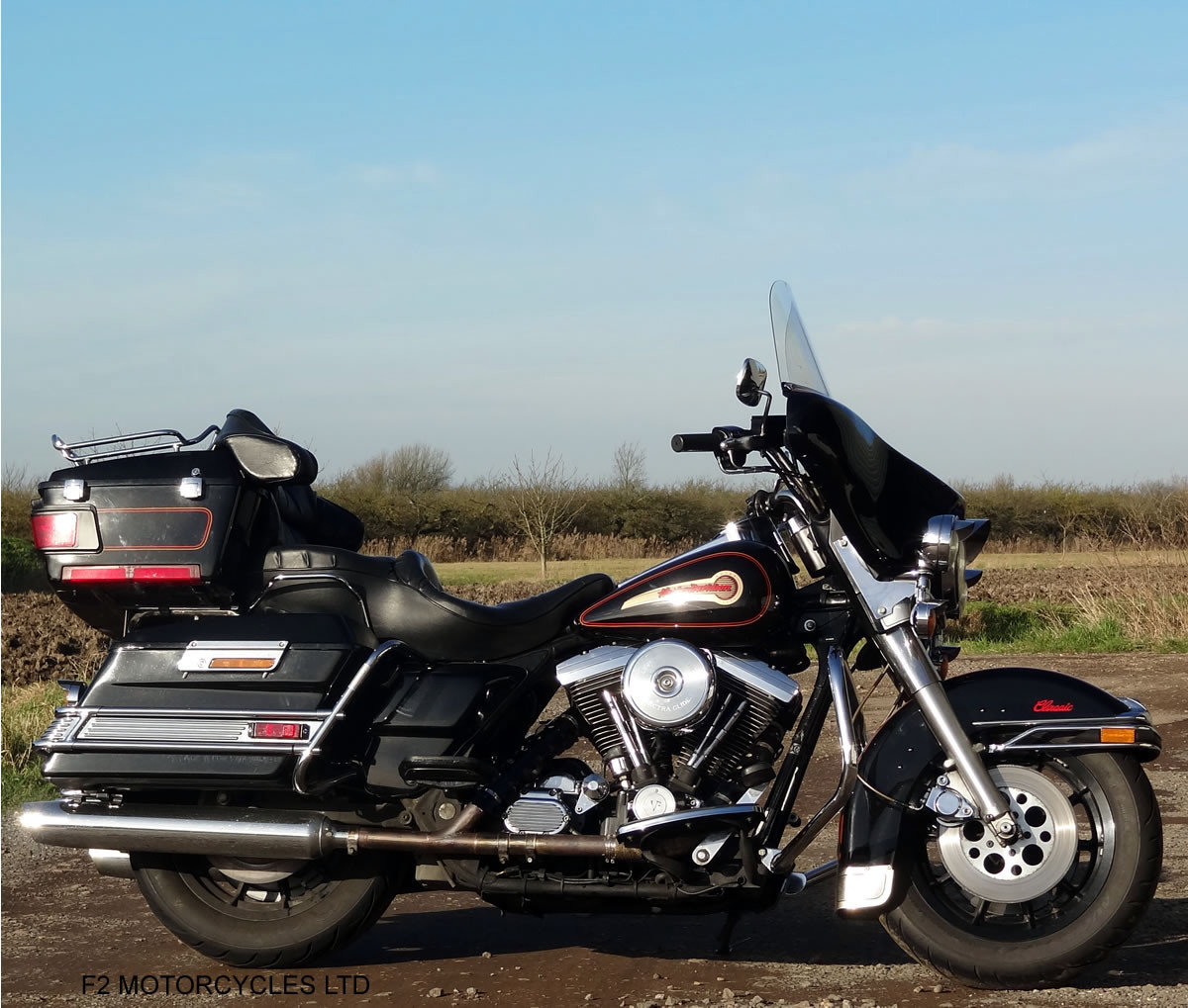 1995 Harley Davidson FLH Electra Glide 1340 Mot, serviced, ready SOLD (picture 1 of 6)