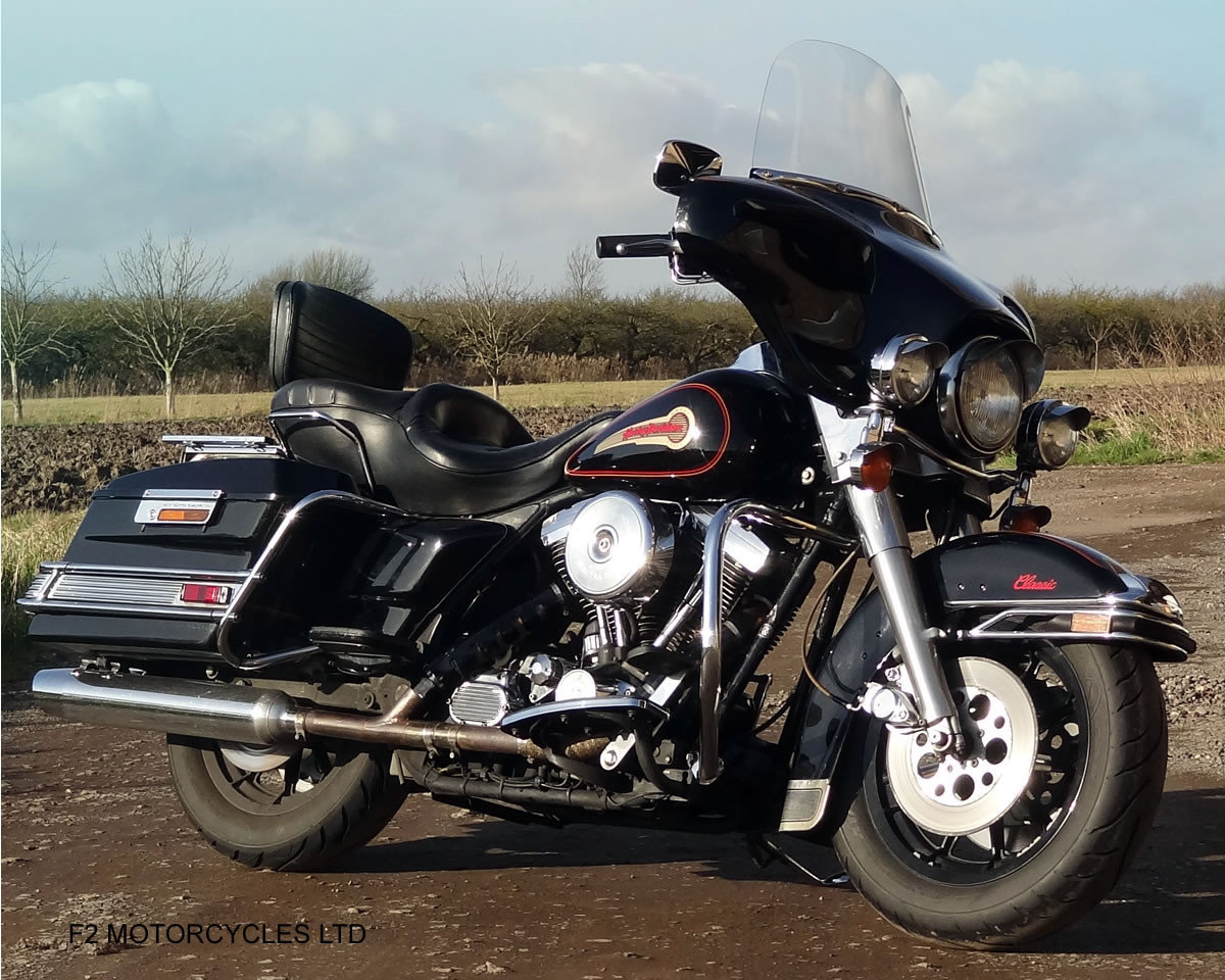 1995 Harley Davidson FLH Electra Glide 1340 Mot, serviced, ready SOLD (picture 3 of 6)