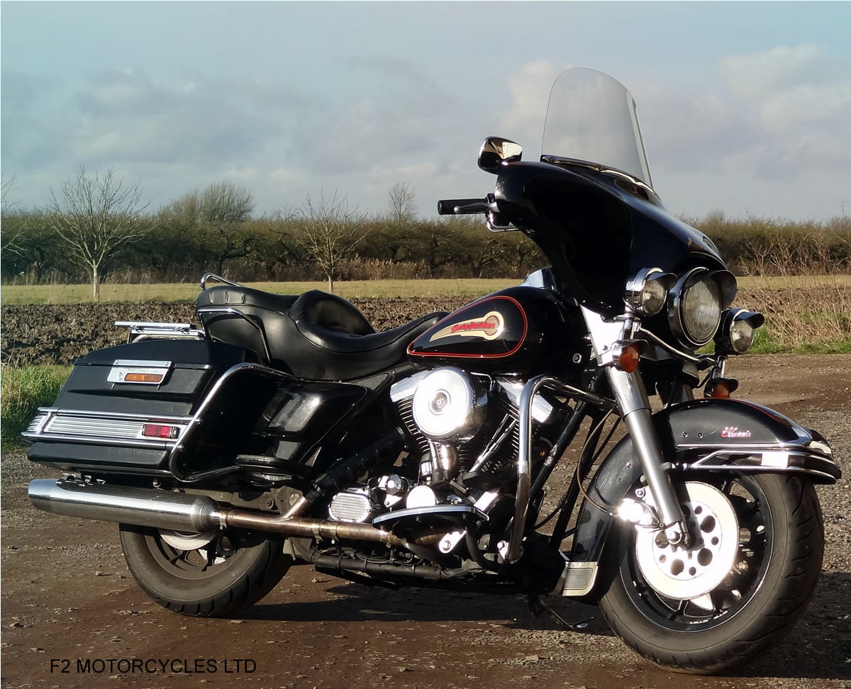 1995 Harley Davidson FLH Electra Glide 1340 Mot, serviced, ready SOLD (picture 4 of 6)