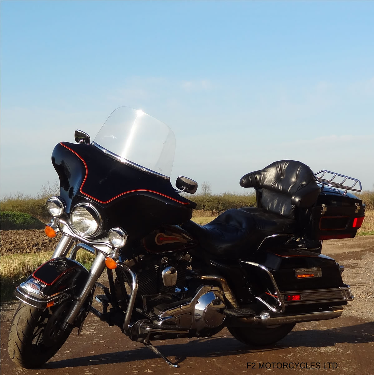 1995 Harley Davidson FLH Electra Glide 1340 Mot, serviced, ready SOLD (picture 5 of 6)