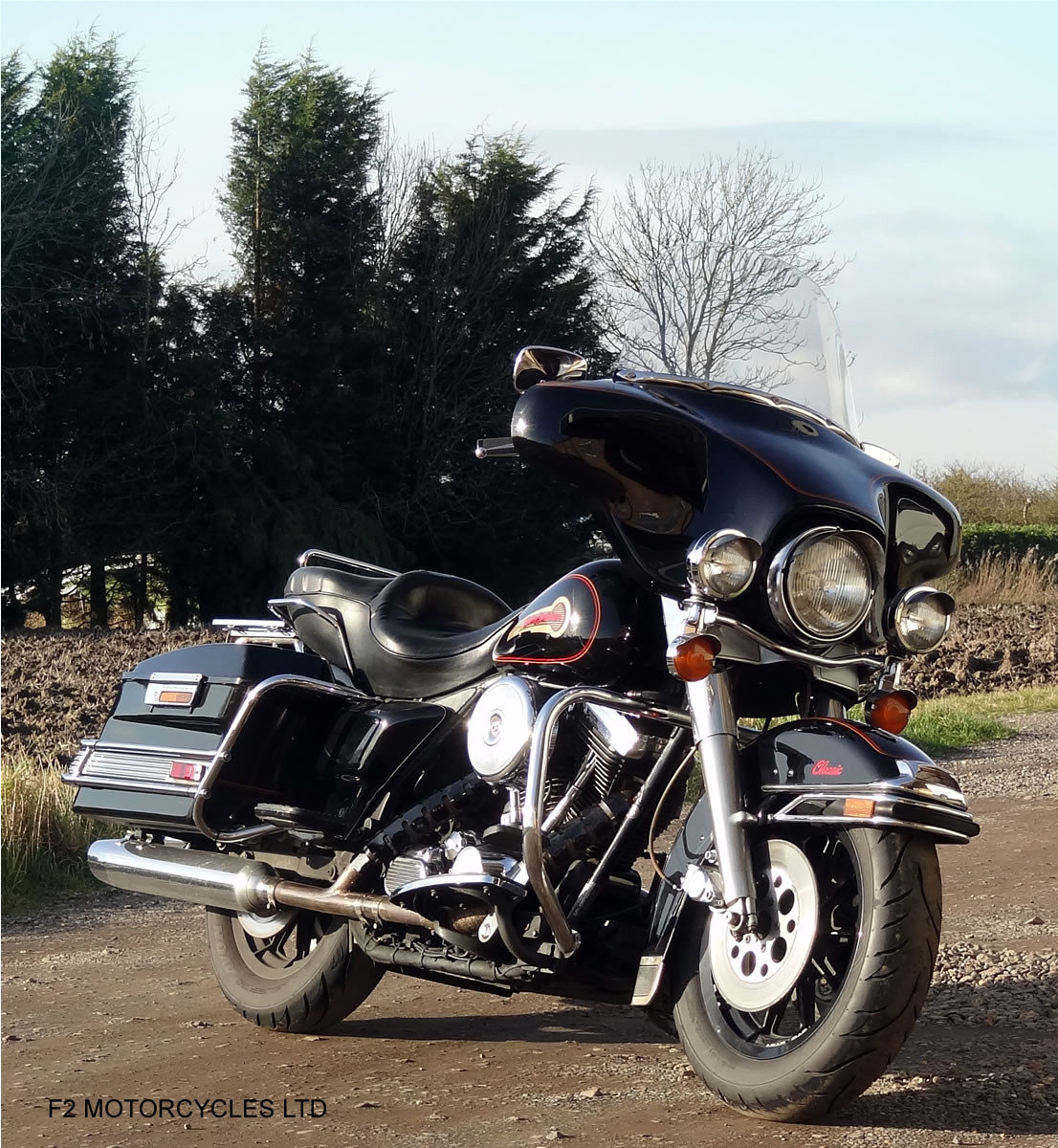 1995 Harley Davidson FLH Electra Glide 1340 Mot, serviced, ready SOLD (picture 6 of 6)