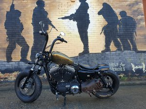2013 XL1200X FORTY EIGHT SPORTSTER For Sale