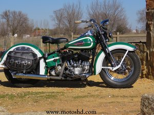 Harley Davidson UL 1.200 from 1945 For Sale
