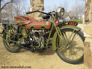 Harley Davidson J from 1922