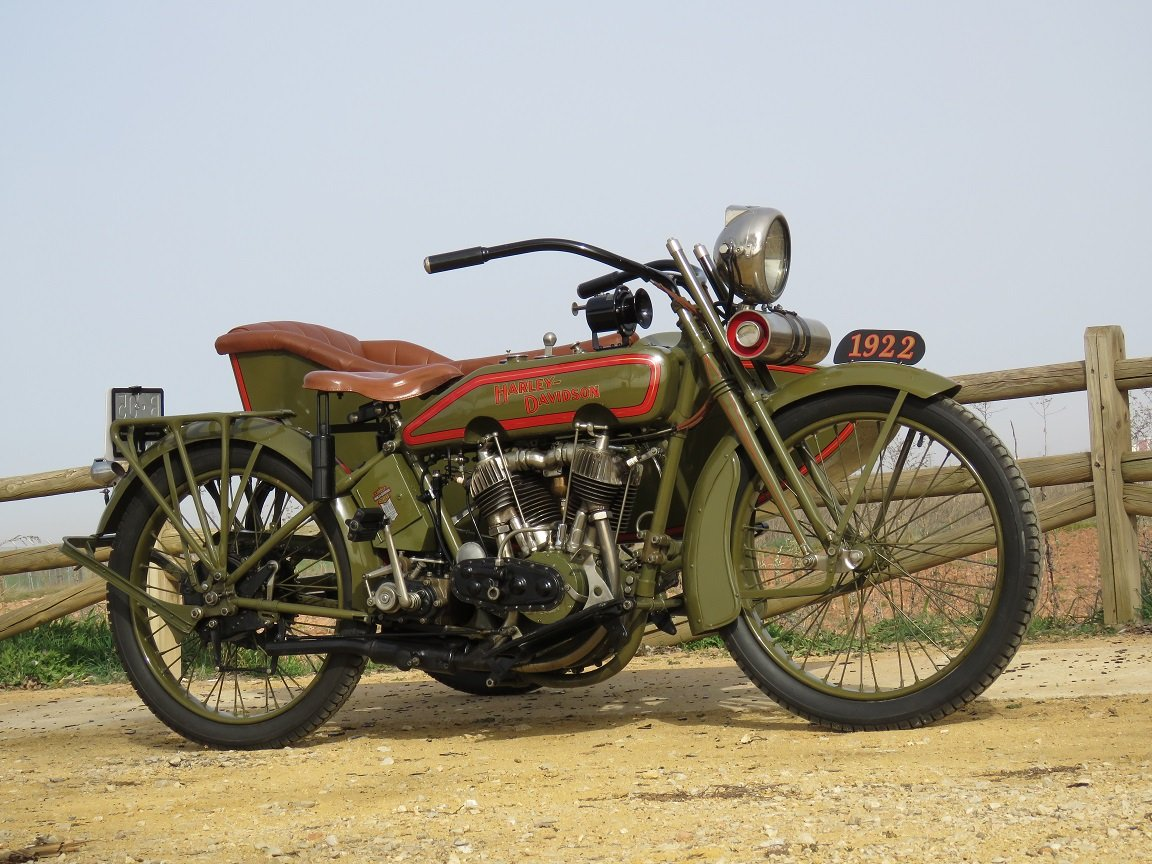 Harley Davidson J from 1922 For Sale (picture 3 of 6)