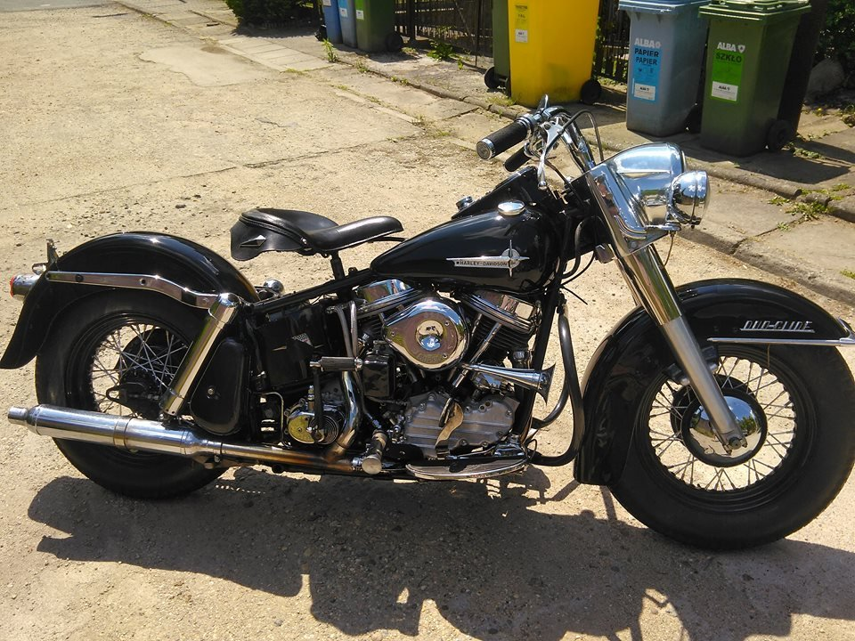 1961 61FLH Duo Glide Panhead For Sale (picture 1 of 6)