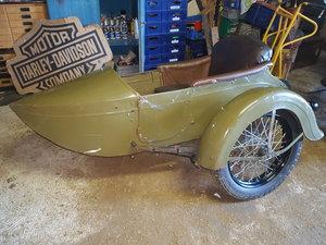 1930 Harley Davidson Sidecar