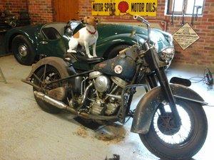 Harley Police Bike 1957 For Sale