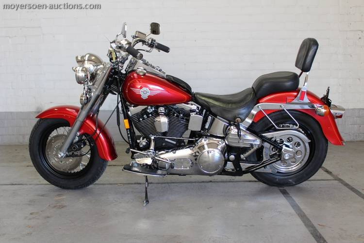 1992 HARLEY-DAVIDSON pouf Fatboy 1340cc EVO For Sale (picture 2 of 4)