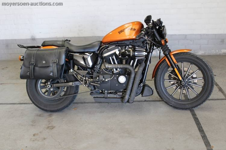 2014 HARLEY-DAVIDSON Sportster XL883N Caferacer For Sale (picture 1 of 4)